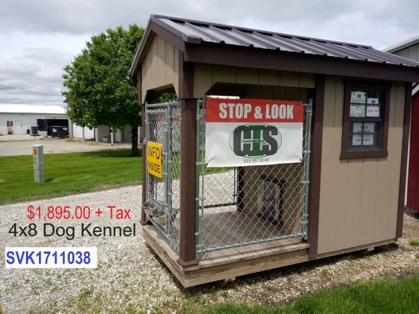 Small Single Run Dog Kennel