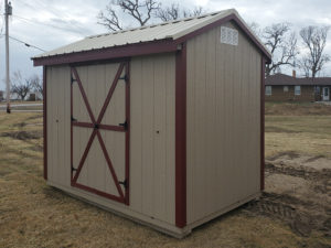 6-X-10-A-FRAME-SHED-WITH-PINNACLE-RED-TRIM