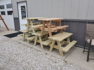 Children's Treated Picnic Tables