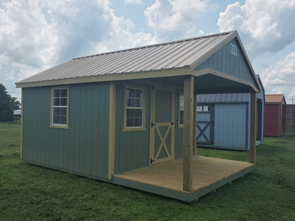 12 x 18 A Frame Cabin w/ 36″ Walk in Door