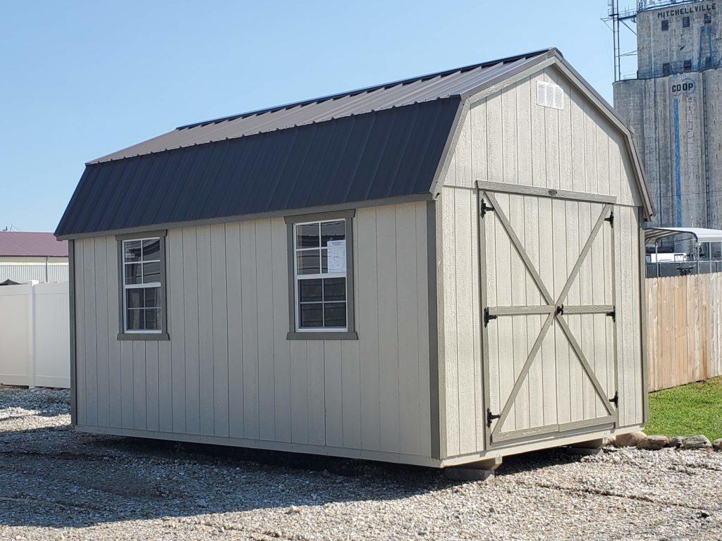 10 x 16 Dutchbarn w/ (2) 64″ Lofts
